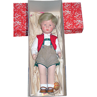 US Zone Kathe Kruse Boy in Original Box