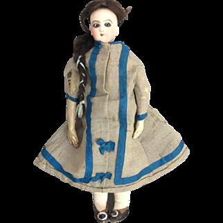 Rare Jumeau size 2 shoulder head fashion doll