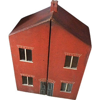 Early English dolls house