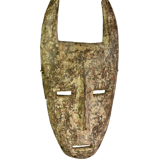African tribal art mask-KWAME- DR Congo