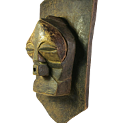 Tribal art panel mask n. 11- SONGYE- DR Congo