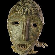 Tribal art mask #15- LEGA- DR Congo