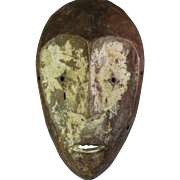 Tribal art mask #19- LEGA- DR Congo