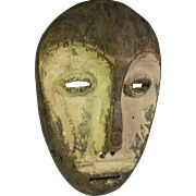 Tribal art mask #20- LEGA- DR Congo