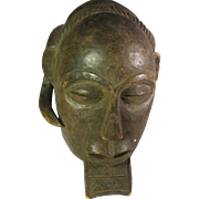Tribal art mask #25- LUBA- DR Congo