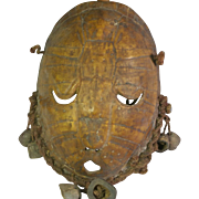 Tribal art shell mask #27- LEGA- DR Congo