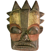 Tribal art mask #3- YAKA- DR Congo