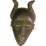 Tribal art mask #4- NYUNGU- DR Congo