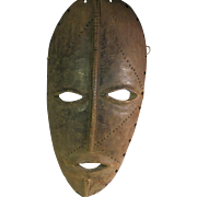 Tribal art mask #5- NGBAKA- DR Congo
