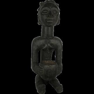 Tribal art statuette #7- LUBA- DR Congo