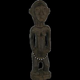 Tribal art statuette #8- TABWA- DR Congo