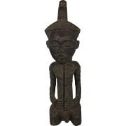 Tribal art statuette #9- NDENGESE- DR Congo