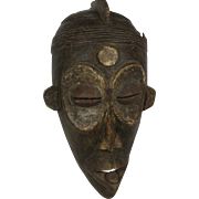 Tribal art mask #18- CHOKWE- DR Congo