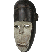 African tribal art LOMBI mask- DR Congo