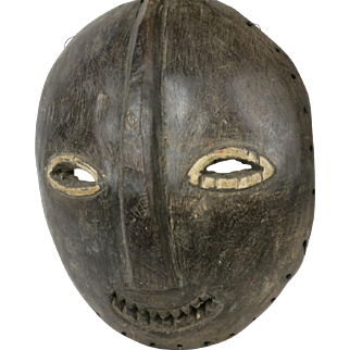 African tribal art NANDE  mask- DR Congo