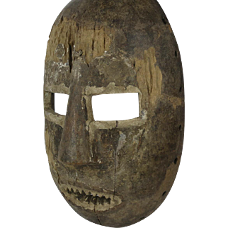 African tribal art KUMU mask- DR Congo