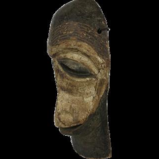 African tribal art ZIMBA monkey mask- DR Congo