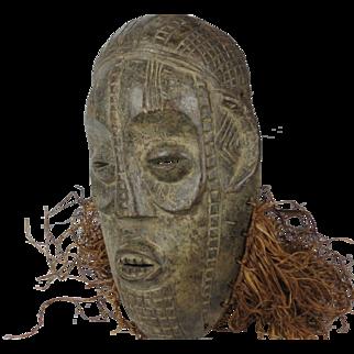 African tribal art BYERU mask- DR Congo