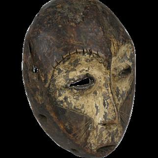 African tribal art LEGA mask- DR Congo