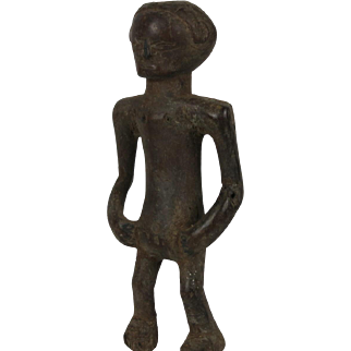 African tribal art TABWA statuette- DR Congo