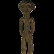 African tribal art statuette-LUBA- DR Congo
