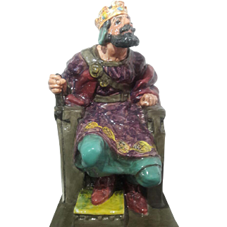 "Royal Doulton Figurine ""The Old King"""