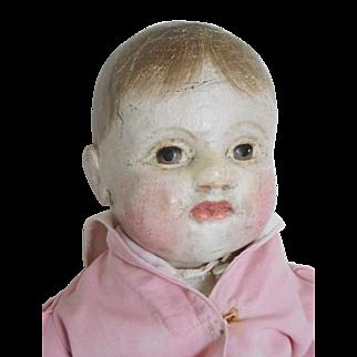 "21"" J.B. Sheppard Philadelphia Baby Oilcloth Cloth Girl"
