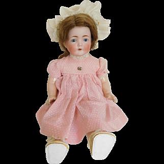 Kestner 281 Century Bisque Shoulderhead Doll