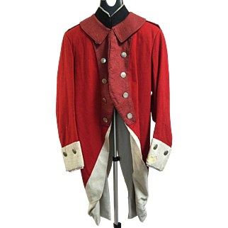 Early 19th Century Officer's Full Dress Military Uniform Coatee