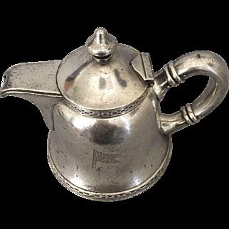 1920 Matson Navigation Lines Ocean Liner Ship Silver Electroplate Creamer Teapot Gorham