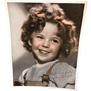 Vintage Shirley Temple Movie Head Shot Hello Everybody Photo Picture