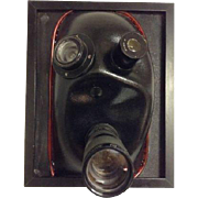 Churchill Camera Lens Sculpture Lighted OOAK Futuristic Photography Promaster