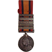 Antique Royal Military Victoria Medal South Africa Diamond Hill Johannesburg