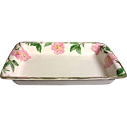Vintage Franciscan Desert Rose Rectangle Casserole Serving Dish