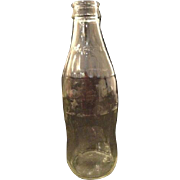 Vintage Coca-cola Coca Cola Coke Kerr Glass Bottle Clear 10 Oz No Deposit