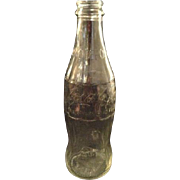 Vintage Coke Bottle Coca-cola Coca Cola Clear No Deposit 10 Oz Anchor Logo