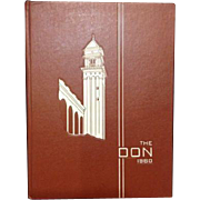 Class Of 1960 The Don 1960's San Francisco University Yearbook Gus Donoghue Alumni Alum