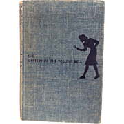 Nancy Drew Mystery Carolyn Keene Tolling Bell Hardcover Tweed