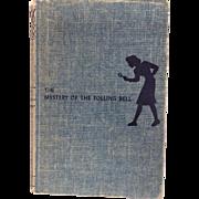 Nancy Drew Mystery Carolyn Keene Tolling Bell Hardcover Tweed