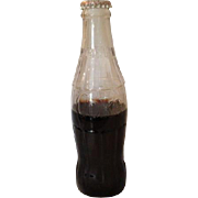 Vintage Coca-Cola Plastic Bottle Hobble No Deposit Return Coke Coca Cola Soda