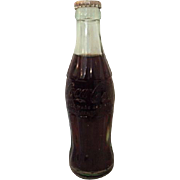 Vintage Coca-Cola Hobble Coke Coca Cola Soda 6 Oz. Chicago Illinois