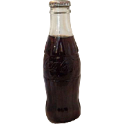 Vintage Coca-Cola Hobble Coke Coca Cola Soda 7 Oz No Deposit Return Huntsville, Alabama