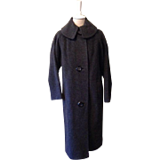 Vintage Wool Blend Froste Ladies Coat