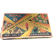 Box For Vintage Noma USA Christmas Lights Celebrations Box 1929