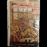 Vintage French Novel Les Silences Du Colonel Bramble Andre Maurois 1940
