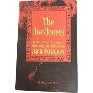 Lord of the Rings Fellowship of the Ring Two Towers Return of the King J.R.R. Tolkien 3 Hard Cover 1965