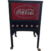 Glascock Coca Cola Coke Self Serve Green Vending Machine Store Junior