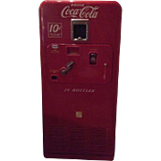 VMC 33 Coke Glass Bottle Vending Machine Original Working Coca Cola Advertising