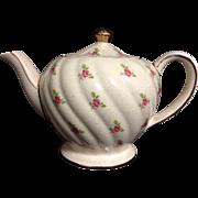 Sadler Pink Rosebud Teapot