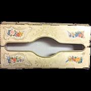 Baret Ware Chelsea England Tissue Dispenser Floral Decorative Tin Vintage Wall